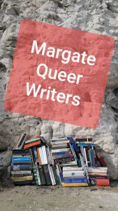 DIY bookbinding launch of margate queer writers_liam odriscoll_margate now festival 2019_image liamodriscoll