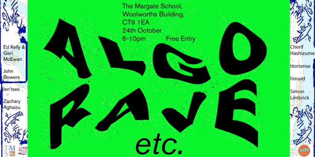 algorave_genetic moo_Margate NOW festival 2019