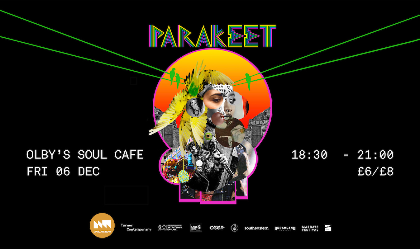 Dreamland Margate presents Parakeet for NOWland Margate NOW festival 2019